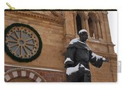 St Francis Cathedral In Santa Fe - Winter Carry-all Pouch