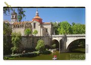 St Goncalo Cathedral Carry-all Pouch by Carlos Caetano