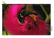 St Kitts Flora Carry-all Pouch