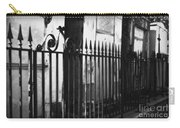 St Louis Cemetery Number One Tombs And Wrought Iron Carry-all Pouch