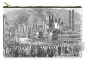 St. Louis: Steamboats, 1857 Carry-all Pouch