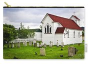 St. Luke's Church In Placentia Newfoundland Carry-all Pouch by Elena Elisseeva