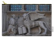 St. Marco And The Lion Carry-all Pouch