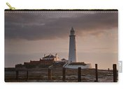 St Marys Lighthouse After Sunrise Carry-all Pouch