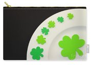 St. Patrick's Day Plate Carry-all Pouch