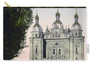 St Paul And St Peter Cathedrals In Kiev - Ukraine - Ca 1900 Carry-all Pouch