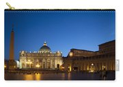 St. Peter's Basilica At Night Carry-all Pouch