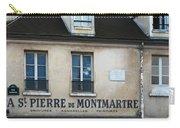 St Pierre De Montmartre Paris Scene Carry-all Pouch