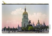 St Sophia Cathedral In Kiev - Ukraine - Ca 1900 Carry-all Pouch