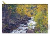 St Vrain Canyon And River Autumn Season Boulder County Colorado Carry-all Pouch