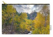 St Vrain Canyon Autumn Colorado View Carry-all Pouch