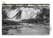 St Vrain River Waterfall Slow Flow Bw Carry-all Pouch