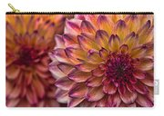 Stacked Dahlias Carry-all Pouch
