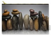 Stacked River Stones Carry-all Pouch
