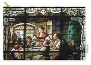 Stained Glass Family Giving Thanks Carry-all Pouch