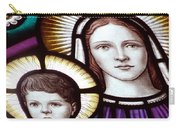 Stained Glass Holy Family Carry-all Pouch