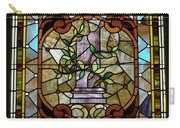 Stained Glass Lc 12 Carry-all Pouch by Thomas Woolworth