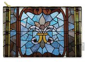 Stained Glass Lc 19 Carry-all Pouch by Thomas Woolworth