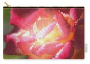 Stained Glass Rose Carry-all Pouch