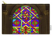 Stained Glass Window In Mezquita Carry-all Pouch
