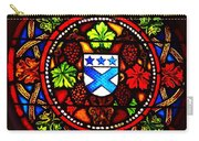 Stained Switzerland Window Carry-all Pouch