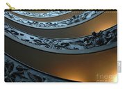 Staircase At The Vatican Carry-all Pouch by Bob Christopher