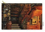 Stairway In Gillette Castle Connecticut Carry-all Pouch