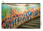 Stairway Mural At Montmartre Metro Exit Carry-all Pouch