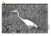 Stalking Egret Carry-all Pouch