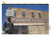 Standin On The Corner In Winslow Arizona Carry-all Pouch