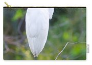 Standing Egret Carry-all Pouch