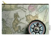 Star Map And Compass Carry-all Pouch