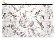 Star Map From Kirchers Oedipus Carry-all Pouch