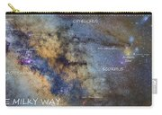 Star Map Version The Milky Way And Constellations Scorpius Sagittarius And The Star Antares Carry-all Pouch