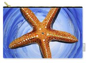 Star Of Mary Carry-all Pouch by J Vincent Scarpace