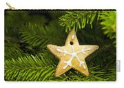 Star Shape Short Bread Cookie Carry-all Pouch