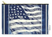 Star Spangled Banner Blue Carry-all Pouch