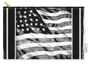 Star Spangled Banner Bw Carry-all Pouch