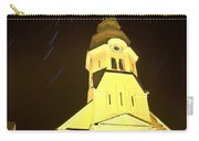 Star Trails Behind Vodice Church Carry-all Pouch