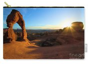 Starburst At Delicate Arch Carry-all Pouch