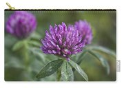 Starfire Clover - Trifolium Pratense Carry-all Pouch