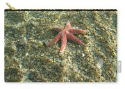 Starfish In Shallow Water Carry-all Pouch