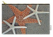 Starfish Three Carry-all Pouch by Sandi OReilly