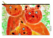 Stargazing Teddy Bears Carry-all Pouch