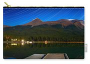 Starry Night Of Mountains And Lake Carry-all Pouch