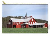 Stately Red Barn With Elongated Clerestory Cupola Carry-all Pouch by John Stephens