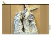 Station Of The Cross 04 Carry-all Pouch