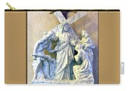 Station Of The Cross 08 Carry-all Pouch