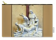 Station Of The Cross 11 Carry-all Pouch