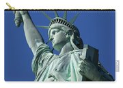 Statue Of Liberty Carry-all Pouch by Brian Jannsen